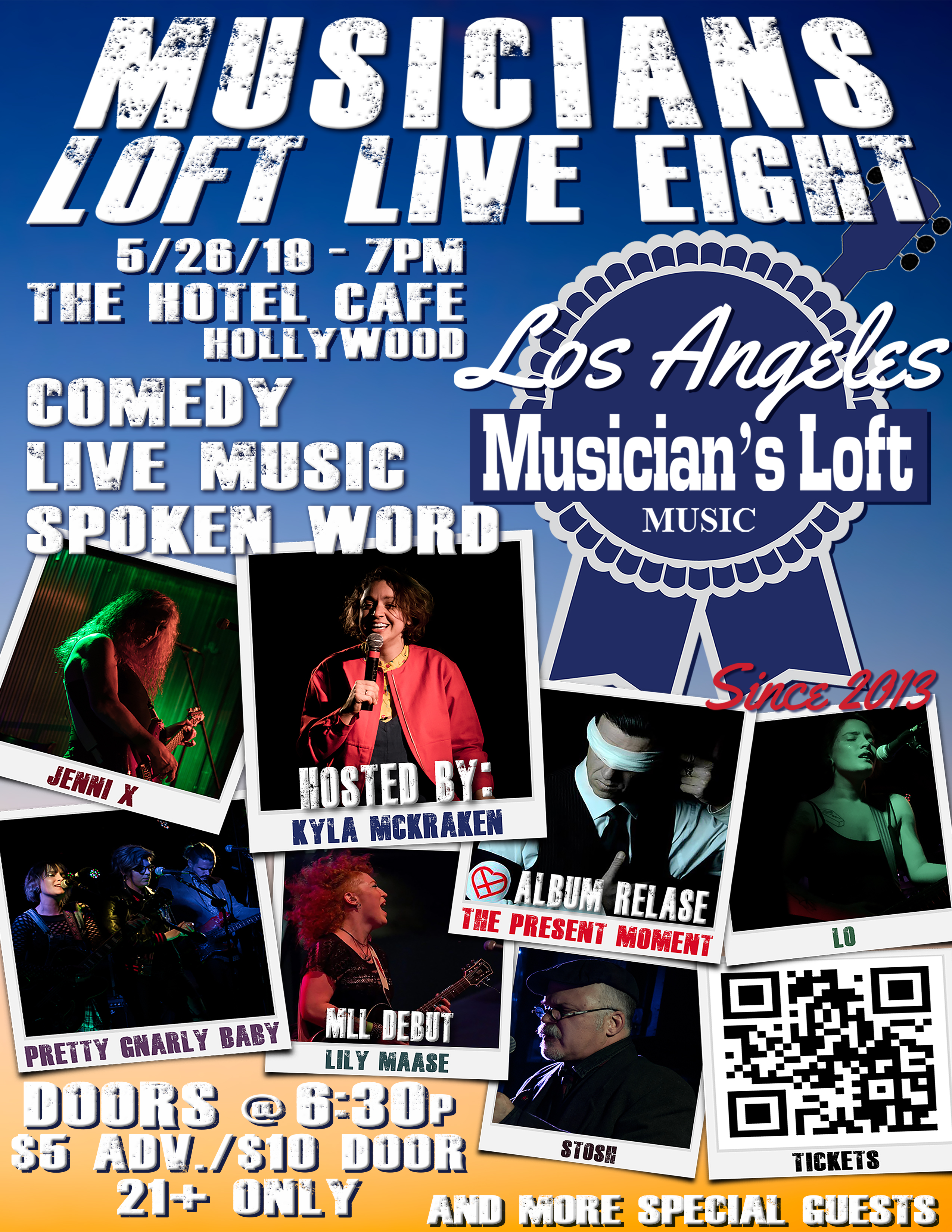 Live Eight FLYER